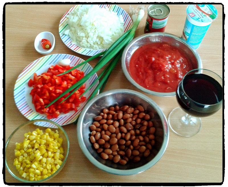 Chilli con carne, spicy, mexická kuchyňa, chilli, recepty