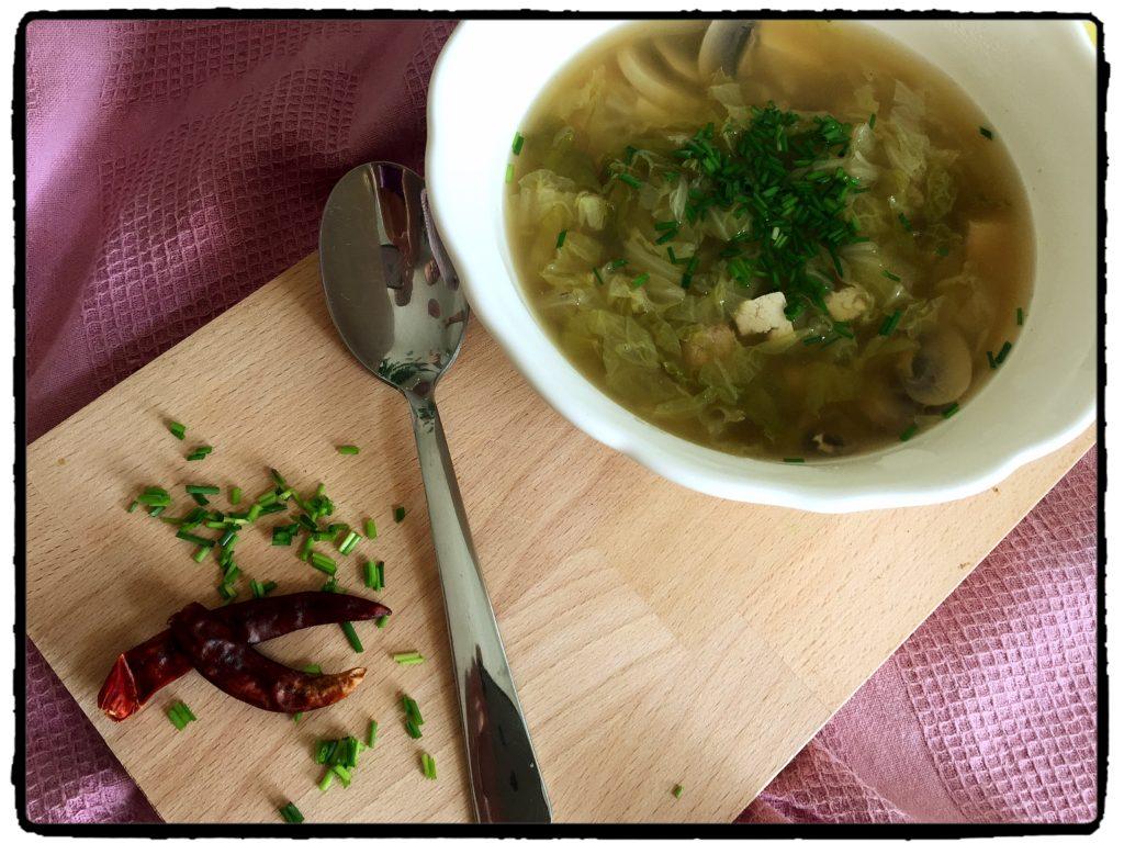 polievka, soup, chilli, šampióny